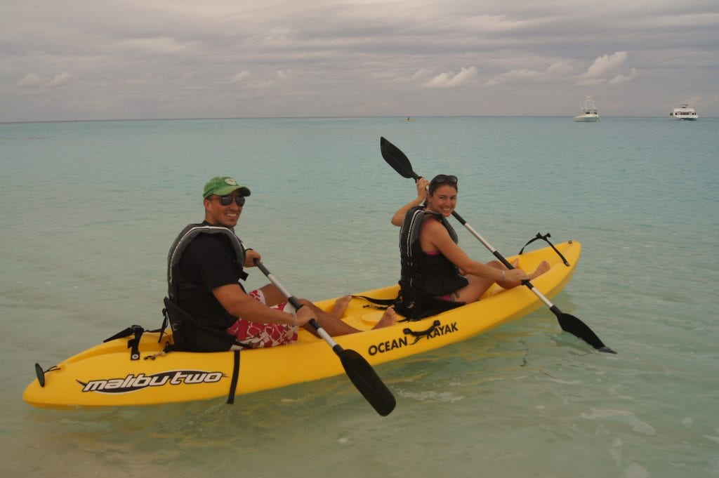 Club Med Columbus Isle Kayaking