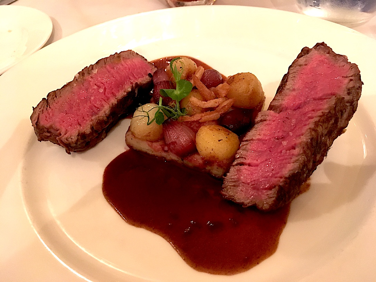 monsieur Paul EPCOT Beef Tenderloin