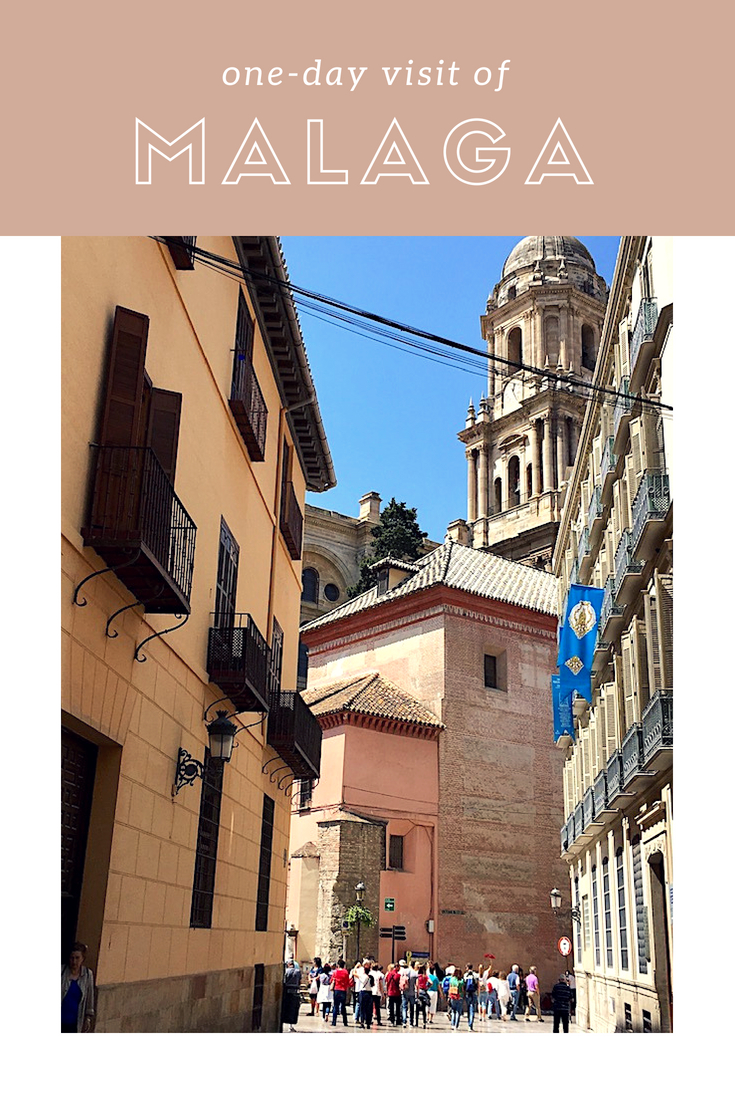 A walking tour of Malaga, Spain, perfect with kids and if you're calling Malaga your port of call for the day. #Malaga #Spain #MalagaSpain #PortofCall #EuropeanCruise #Mediterranean Cruise