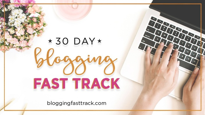 30-Day Blogging Fast Track Course