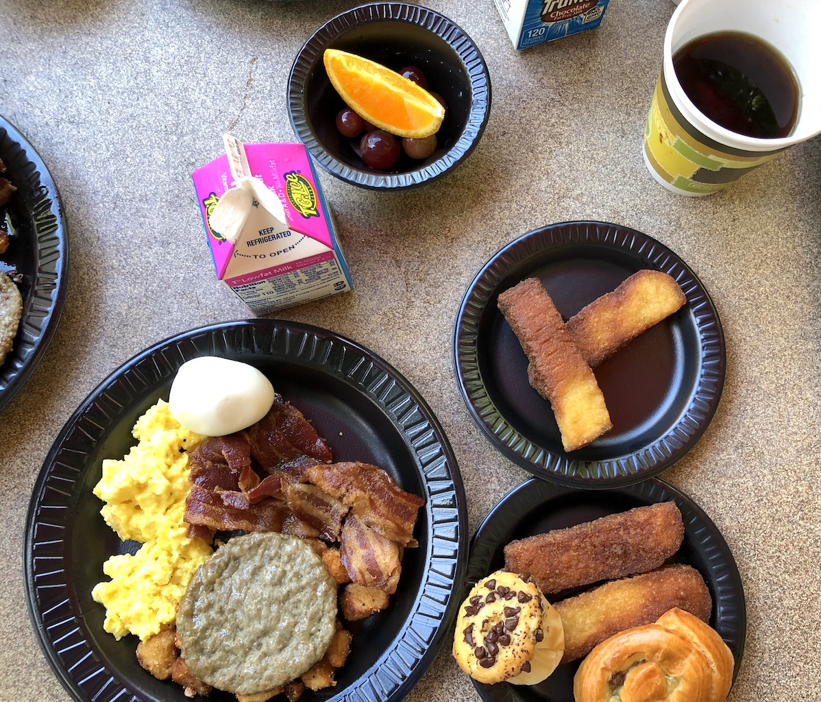 Discovery Cove Breakfast