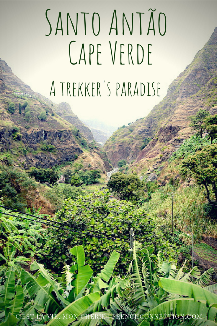 Visiting Cape Verde and trekking on Santo Antao with a guide #CapeVerde #Trekking #AdventureTravel #SantoAntao