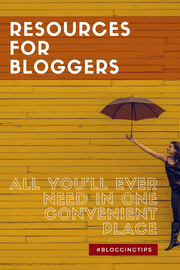 Resources for bloggers and website owners #BloggingTips #BloggersResources #Blogging #Blogger #BloggersTribe #GrowYourBlog #OnlineResources #Tailwind #EmailLists #WordPress