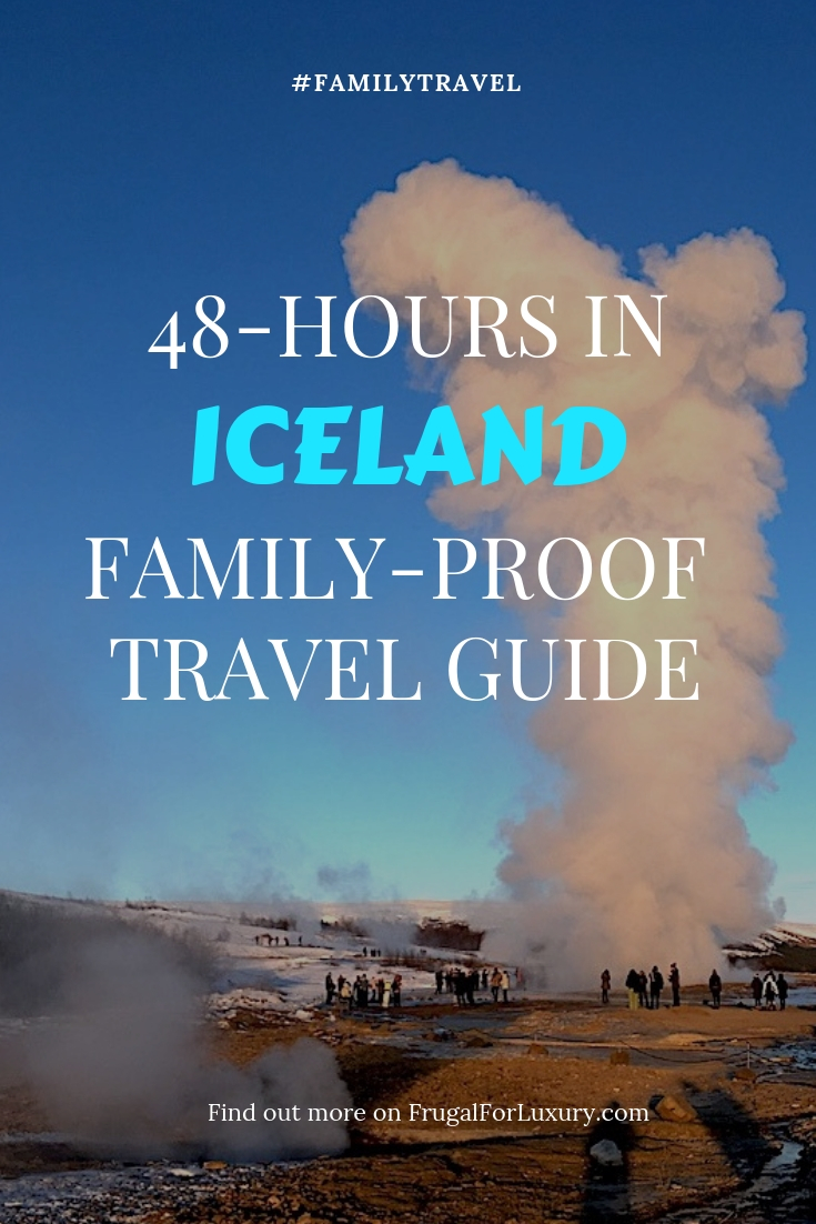 48-hour family-proof travel guide to Iceland | Visit Iceland with children | Iceland stopover | Weekend Getaway to Iceland #iceland #visiticeland #icelandtravelguide #48hoursiniceland #icelandairstopover #quickicelandtour #icelandin48hours #icelandmustsees #icelandideas #whattoseeiniceland