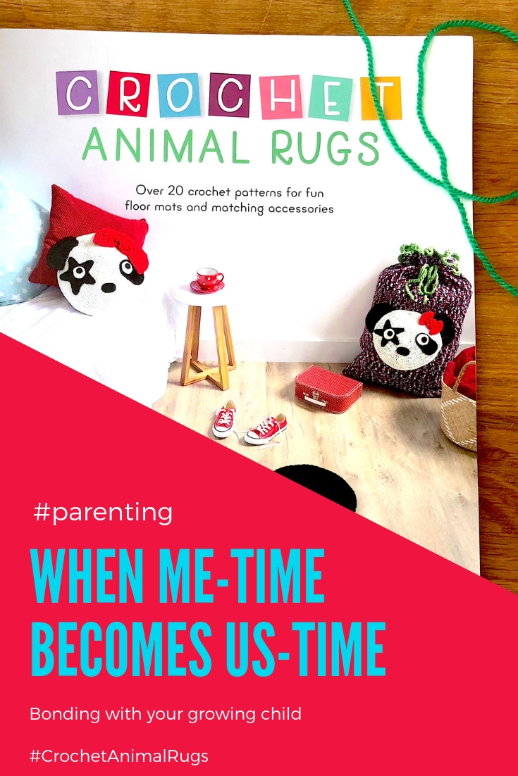 When Me-Time Became Us-Time --> the power of crocheting with and without kids #crochet #CrochetAnimalRugs #IraRott #FamilyLifestyle #CrochetForKids #CutePatterns #RelaxingHobby #StressedMom #MindClearingHobby