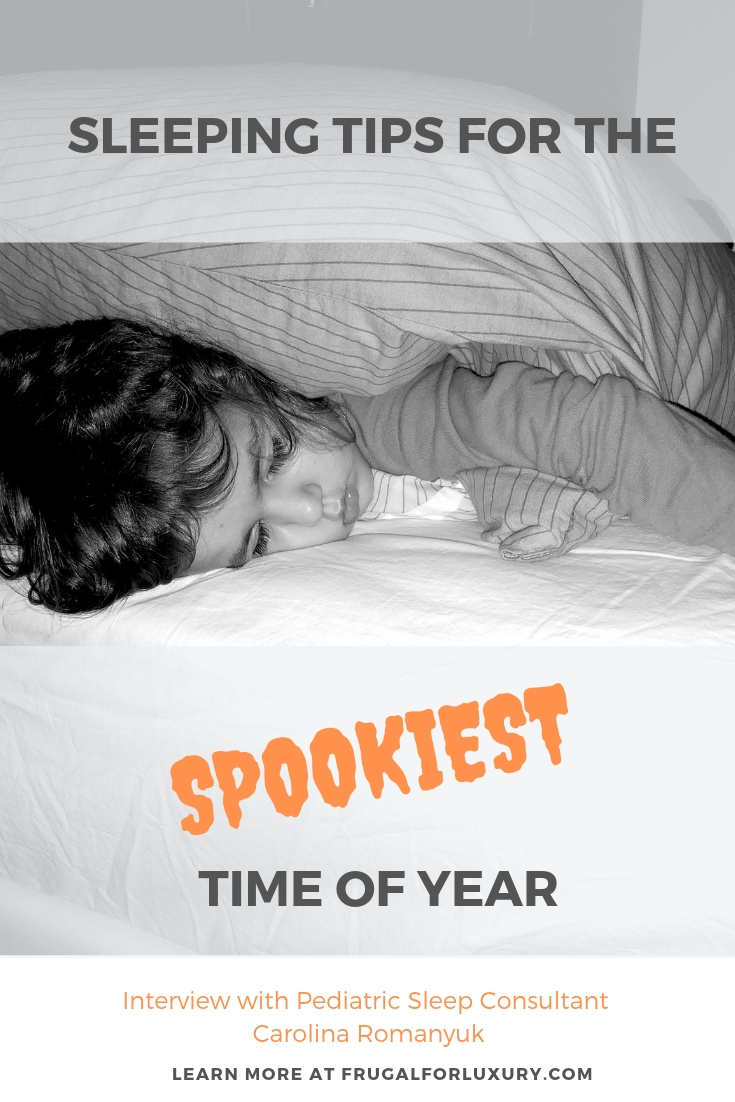 Sleeping Tips from Sleep Expert Carolina Romanyuk for the spookiest time of year | sleeping tips for Halloween and the time change | pediatric sleep consultant | parenting sleep | bedtime routine | bedtime tips | best app for kids | best app to go to sleep | moshi twilight app| #parenting #parentingtips #bettersleep #babysleep #sleepingmethods #moshitwilight #makebedtimeadream #lifesaver