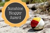 Sunshine Blogger Award #sunshinebloggeraward #bloggerrecognition #bloggingaward